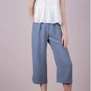 TTR Clan Culottes Ash Blue Pants
