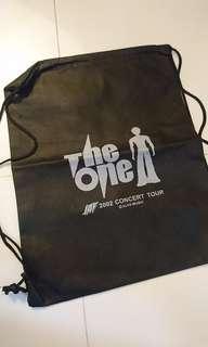 Jay Chou The One 2002 concert Drawstring Bag