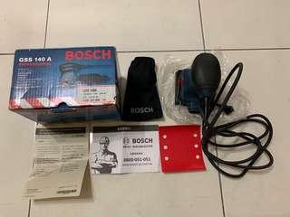 🚚 8成新 BOSCH GSS 140A原廠 砂磨機(含集塵套)
