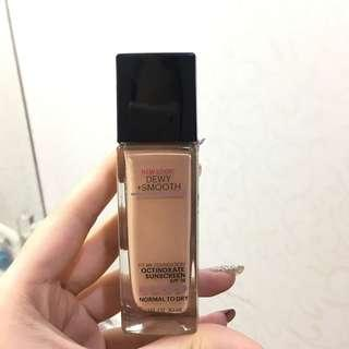 Maybeline fit me foundation dewy + smooth 125