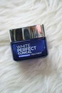 Loreal white perfect clinical night cream