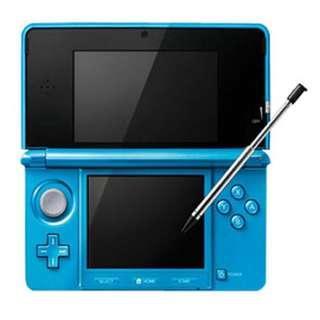 🚚 任天堂 3DS 晴空藍 中文版送遊戲片