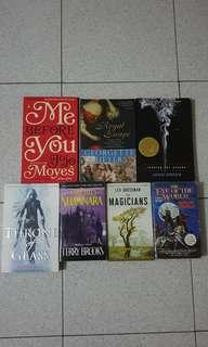 Fantasy and Romance Books (Pre-owned)