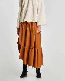 Zara Asymmetric Skirt