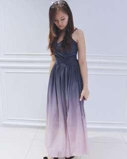107dc766d4 Ombre Maxi Dress
