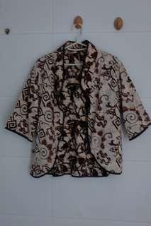 Blazer Batik Bantul Bolak-balik