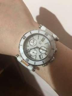 Original GC watch Guess Collection ceramic swiss made original price 25K purchased in UAE with box