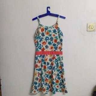 Blue Floral Dress #CNY2019