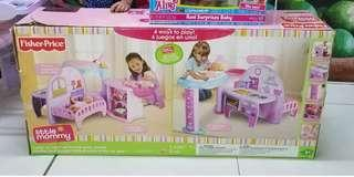 Baby alive Fisher price 4 in 1 doll playset
