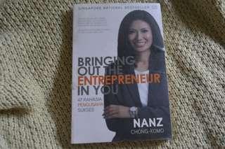 #CNY2019 Buku Bestseller Bringing Out The Entrepreneur In You by Nanz Chong Komo