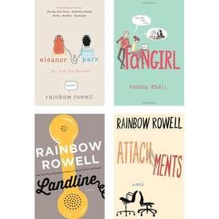 Rainbow Rowell Books in PDF