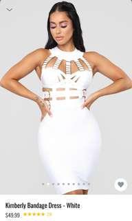 IN BLACK 'Kimberly' Dress Fashion Nova
