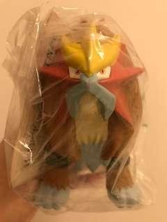 絕版Pokemon神獸炎帝/精靈寶可夢神獸炎帝/TOMY吊牌公仔玩具