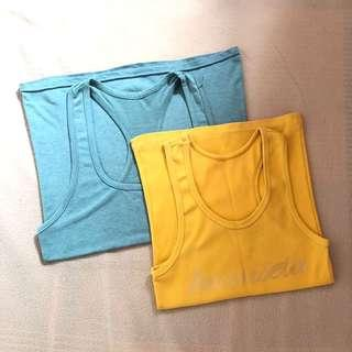 2pcs Racerback Top