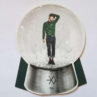 EXO Miracles in December Tao Snowglobe