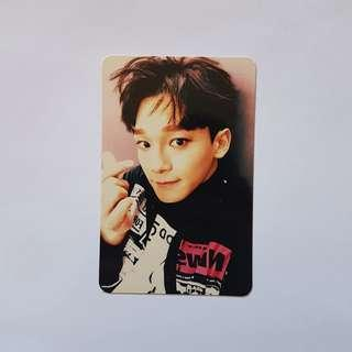 EXO Sing For You Chen photocard