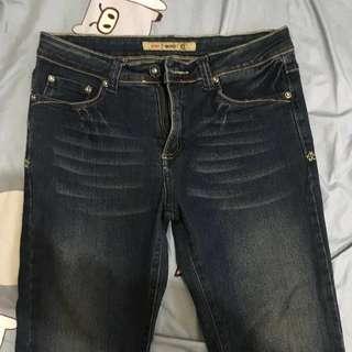 牛仔褲 全新