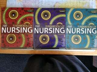 Fundamentals of Nursing textbooks
