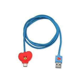 WTB BTS TAEHYUNG BT21 TATA LIGHTING CABLE