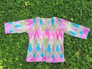 #Reprice outer batik