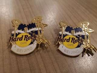 Hard Rock Cafe BEIJING Pin (A Pair)