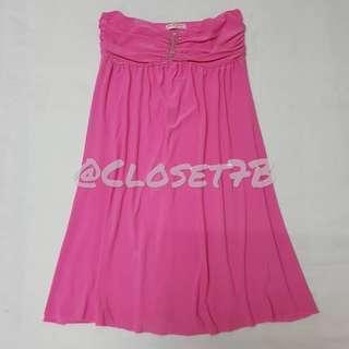 Karimadon pink tube dress