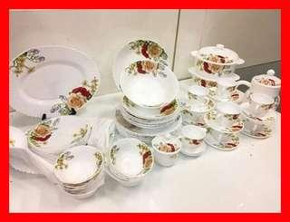 72 Pcs Opal Glassware #CNY888