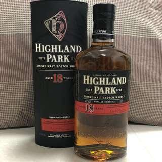 Highland Park 18 (Old Bottling)