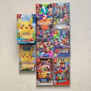 🚚 Nintendo Switch Game Collection