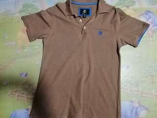 Timberland Brown Polo T shirt (Small size, Regular fit)