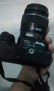 Kamera sony SLT-A35 kondisi apa adanya aja