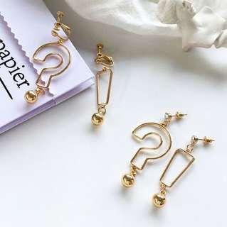 🚚 🍑: ulzzang ?! earrings