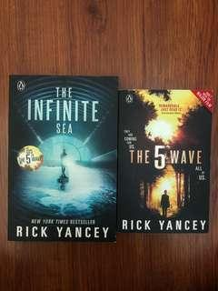 The 5th Wave & The Infinite Sea by Rick Yancey
