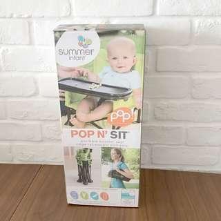 Summer Infant Pop N' Sit Portable Booster - Green