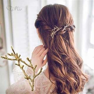 Hair clip fairy antlers