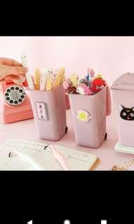 Cute Pink pen holder