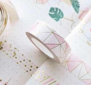 🚚 Geometrical washi tape (po)