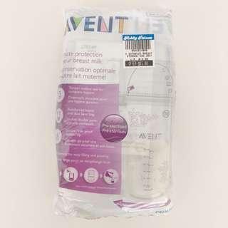 🚚 Philips Avent Storage milk bags x 25pcs