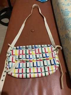 Lacoste Stripe Bag for Sale