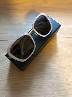 JINS霧金色墨鏡太陽眼鏡,全新