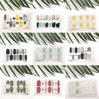 🚚 [free nm] cute minimalist nail sticker / decal ✨
