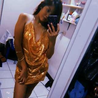 FOR RENT KYLIE INSPIRED SEQUIN DRESS❤