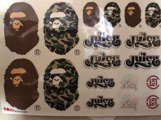 Ape X Juice sticker