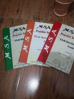 Civil Service Exam Practice test