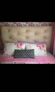 Getha Divan bedframe with Headboard