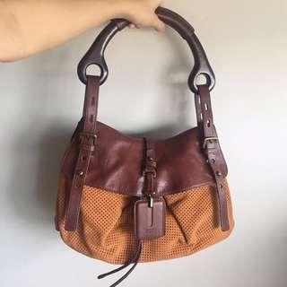 🚚 Hugo Boss Brown Handbag