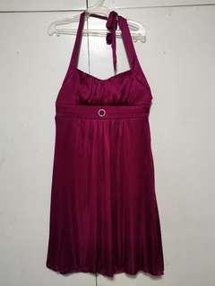 Trixxi Red Wine Cocktail dress