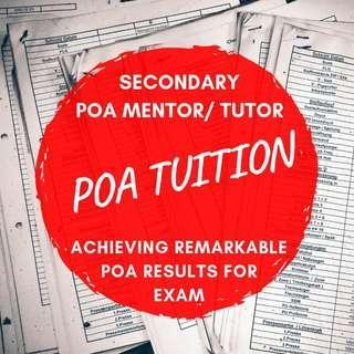 POA Tuition | JC1 JC2 H1 H2 JC Economics | POA Tutor | Secondary JC School Level | N O A level Home Tuition Tutor | Diploma Degree | Uni Private Tuition Teacher | Accounting | Accounts Tuition Teacher | Full Time Tutor | LCCI CPA ACCA