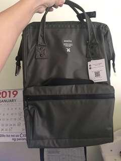 RUSH SALE!!! Authentic Anello Waterproof Army Green Backpack