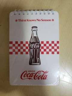 可口可樂 筆記簿